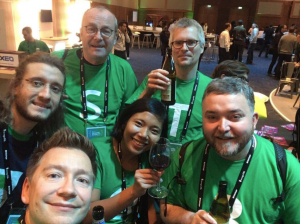 The Studio 3T crew at MongoDB Europe 2017